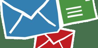 E-mail de fundo