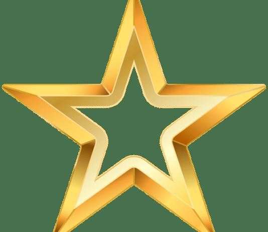 Estrela com fundo transparente