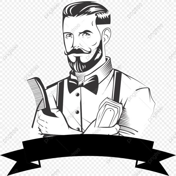 Logo de barbearia