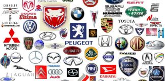 Logos de marcas de carros