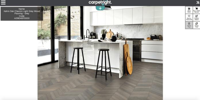 Carpetright visualiser
