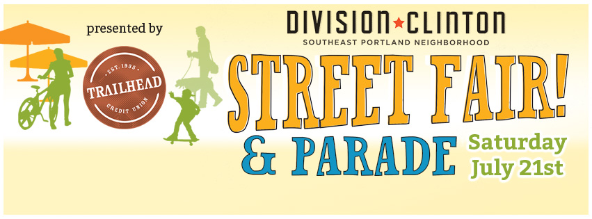 Division-Clinton Street Fair and Parade, Saturday July 21st, presented by Trailhead Credit Union