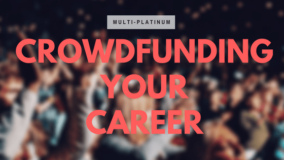crowdfunding your career