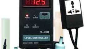 Alat Ukur Tingkat Controller dengan Suhu HL-233T