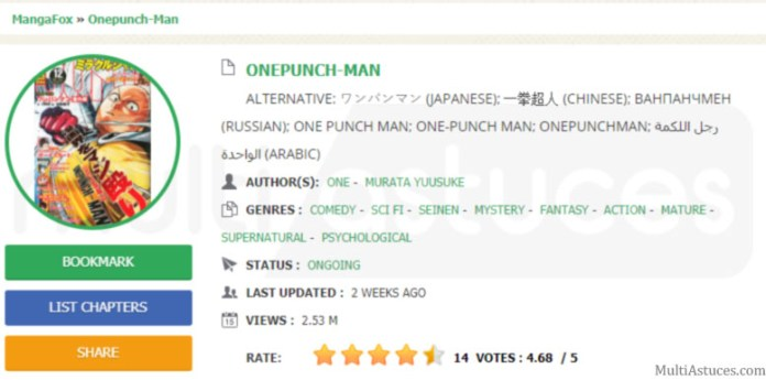 lire One Punch Man