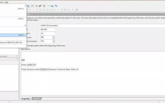 VCE en PDF