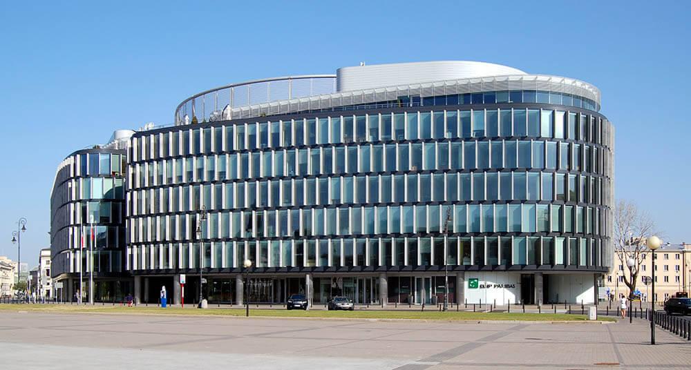biurowiec wirtualnego biura w Warszawie Centrum