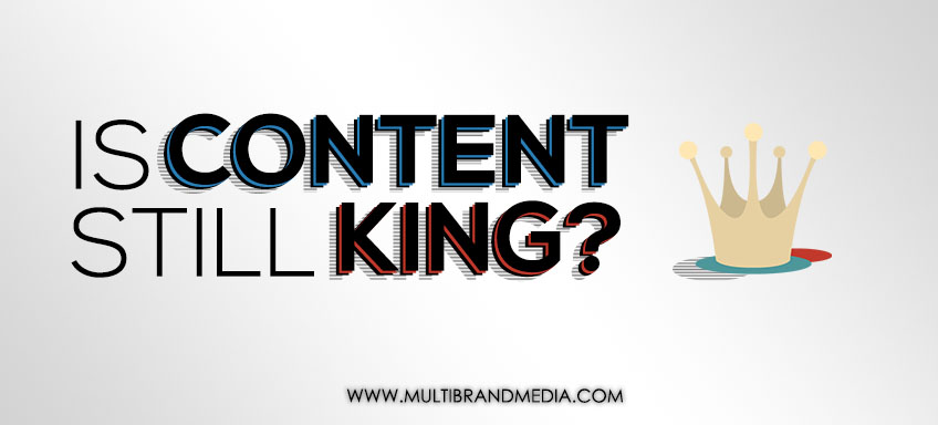 Is Content Still King