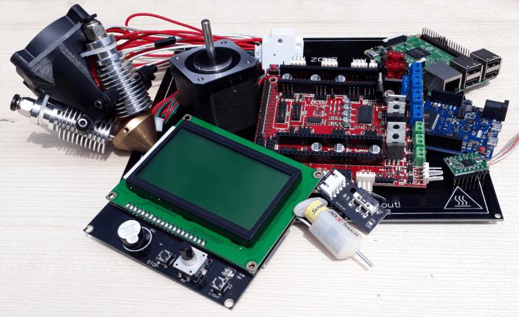 Hardware die in 3D Drucker eingesetzt wird