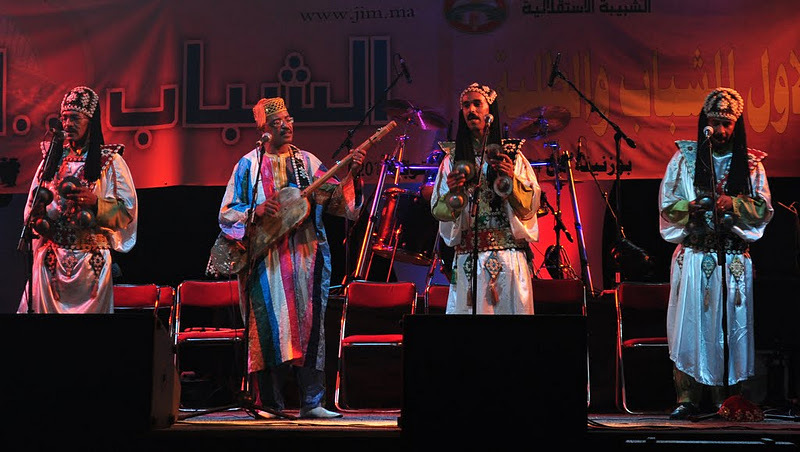 Gnawa w Maroku (Fot. Marta Marakchi © All rights reserved)