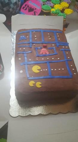 pac-man-cake