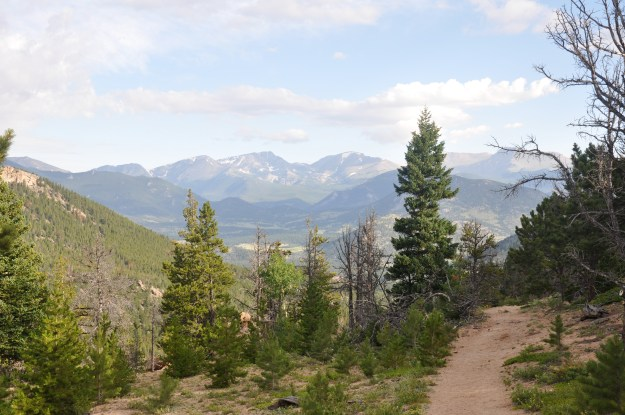 The view from a Colorado mountain top, but there is always another summit.