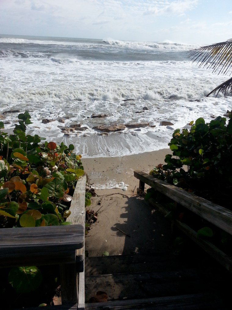 The Aftermath of Super Storm Sandy. North Palm Beach, FL