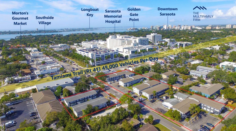 The Multifamily Firm Markets 106-Unit Apartment Complex Portfolio in Sarasota