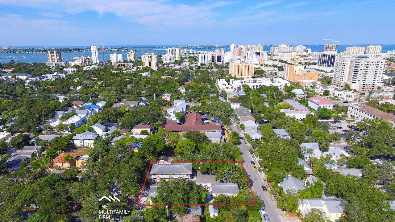 The Multifamily Firm Sells 11 Unit Apartment Complex in Downtown Sarasota Florida