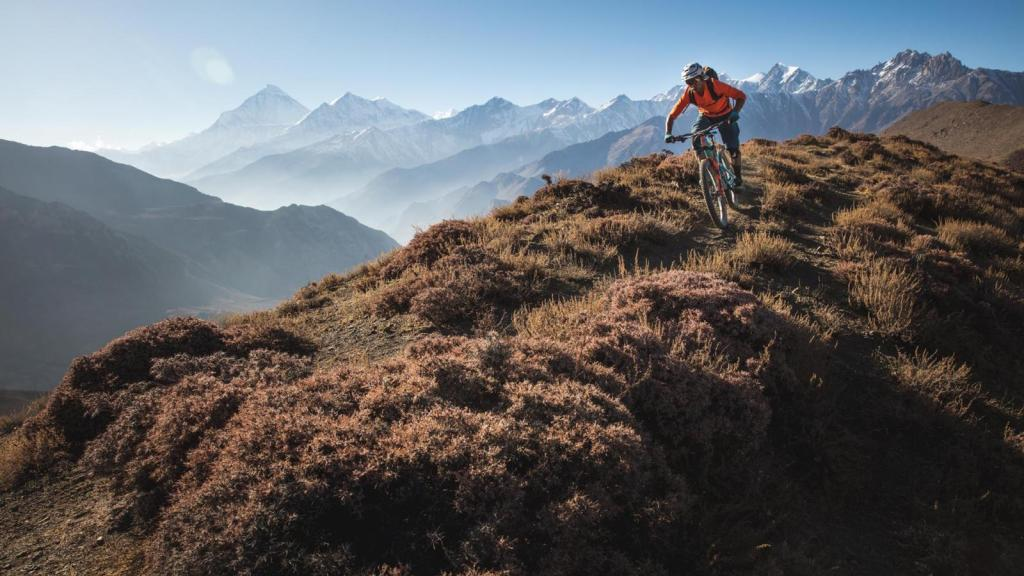 """RJ Ripper"" is about a Nepalese mountain biker."