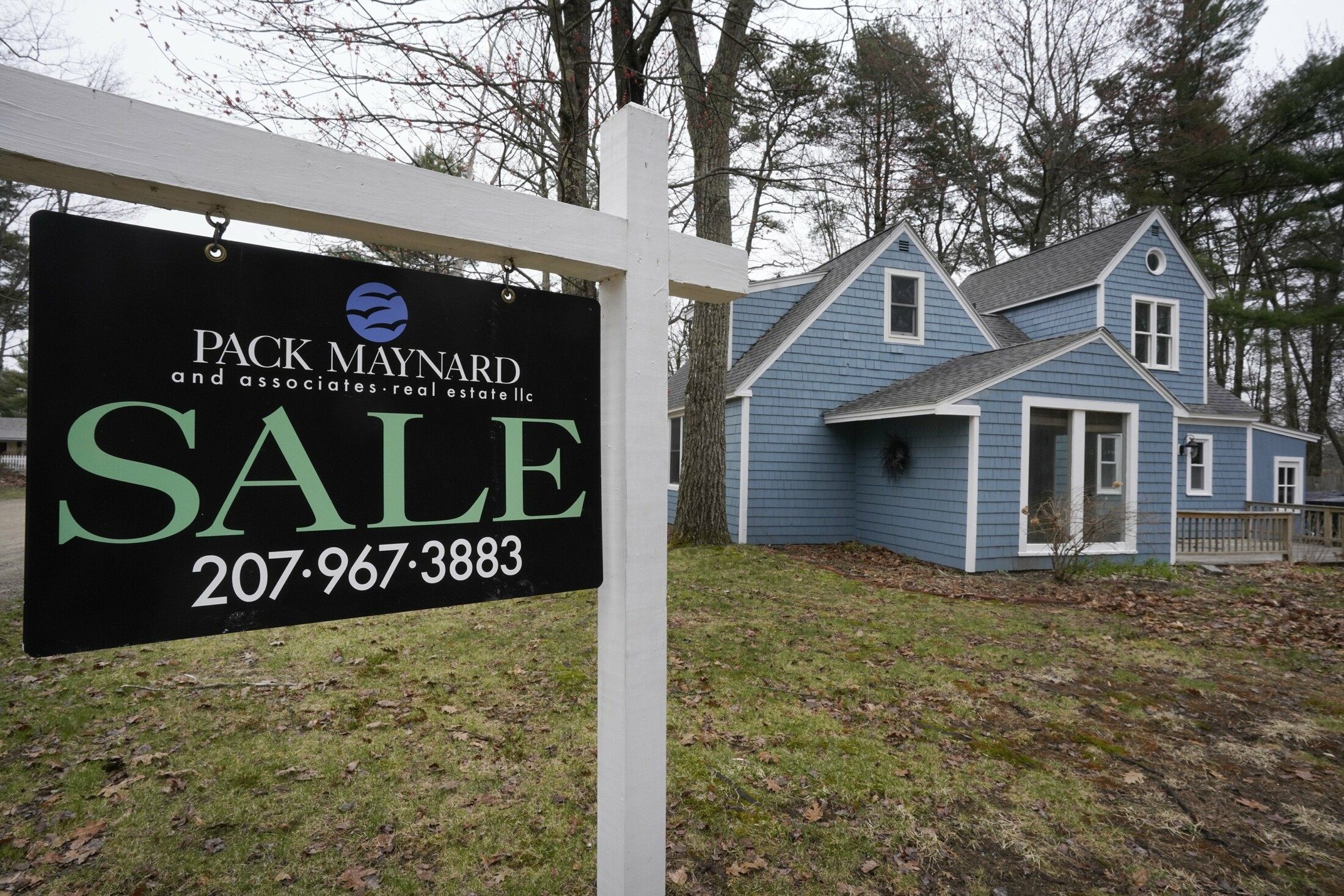 Declining home prices provide another sign that real estate