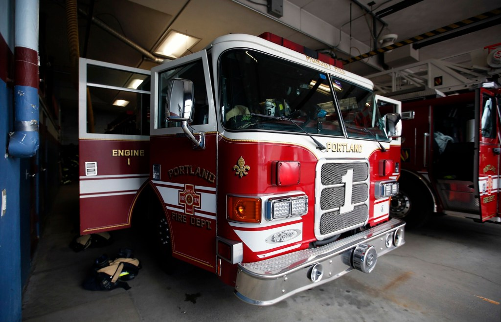 City Manager Jon Jennings' budget for the coming year calls for Engine 1 at the Portland Fire Department's Munjoy Hill station to be decommissioned. Firefighters and residents oppose that change.
