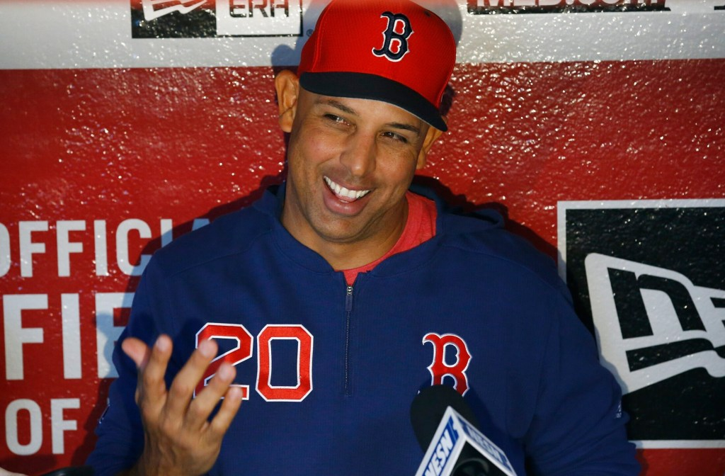 Alex Cora stressed to his team in spring training that he didn't want them to turn the page on 2018. He wanted them to remember the hard work it took to win 108 regular season games and then the World Series. They need to remember those things after a 3-8 start.