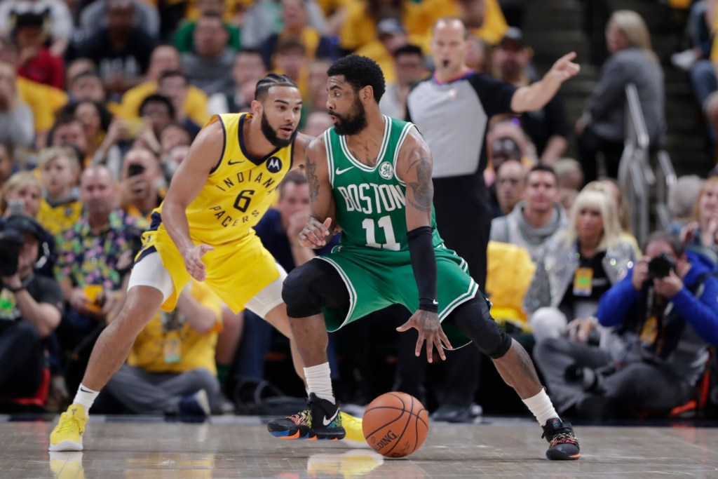 Kyrie Irving and the Boston Celtics made quick work of the Indiana Pacers in the first round and hope to continue their physical play in the second round in a likely matchup with Milwaukee.