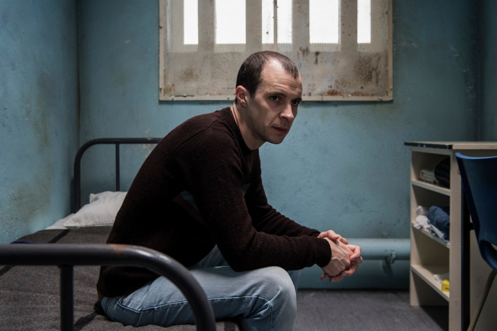 "Tom Vaughan-Lawlor as Larry Marley in ""Maze."""