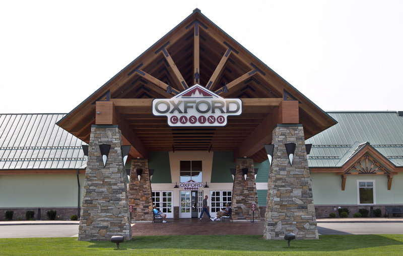 Oxford Casino earned nearly twice as much revenue last year as Hollywood Casino in Bangor. Together, they brought in nearly $144 million, a record.