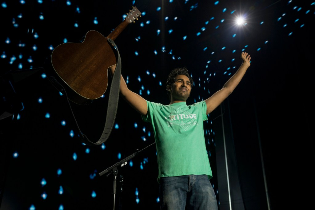 "This image released by Universal Pictures shows Himesh Patel in a scene from ""Yesterday."""