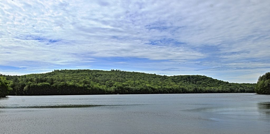 Wayne voters have approved attaching a conservation easement to a 118-acre piece of town-owned land that overlooks Wilson Pond.