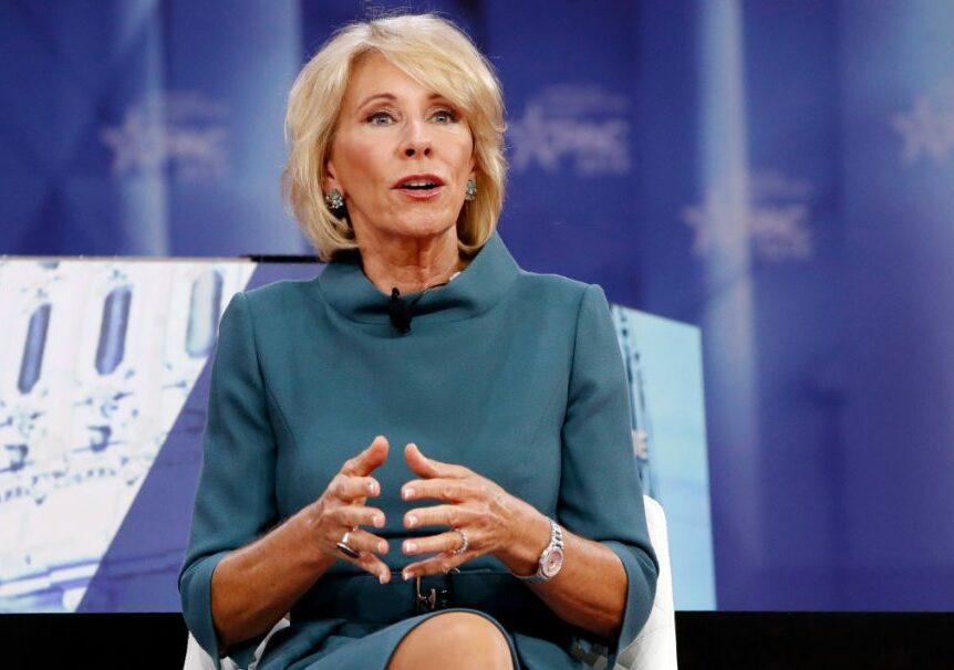 Education Secretary Betsy DeVos has hired several for-profit college insiders and frozen Obama-era rules.