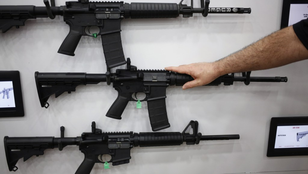 AR-15 rifles and their cousins are among the nation's most popular  guns. The AR-15 fires one bullet with each pull of the trigger. Functionally, they are no different from the guns North American deer hunters have been using for the last 75 years or more, writes columnist Bob Humphrey.