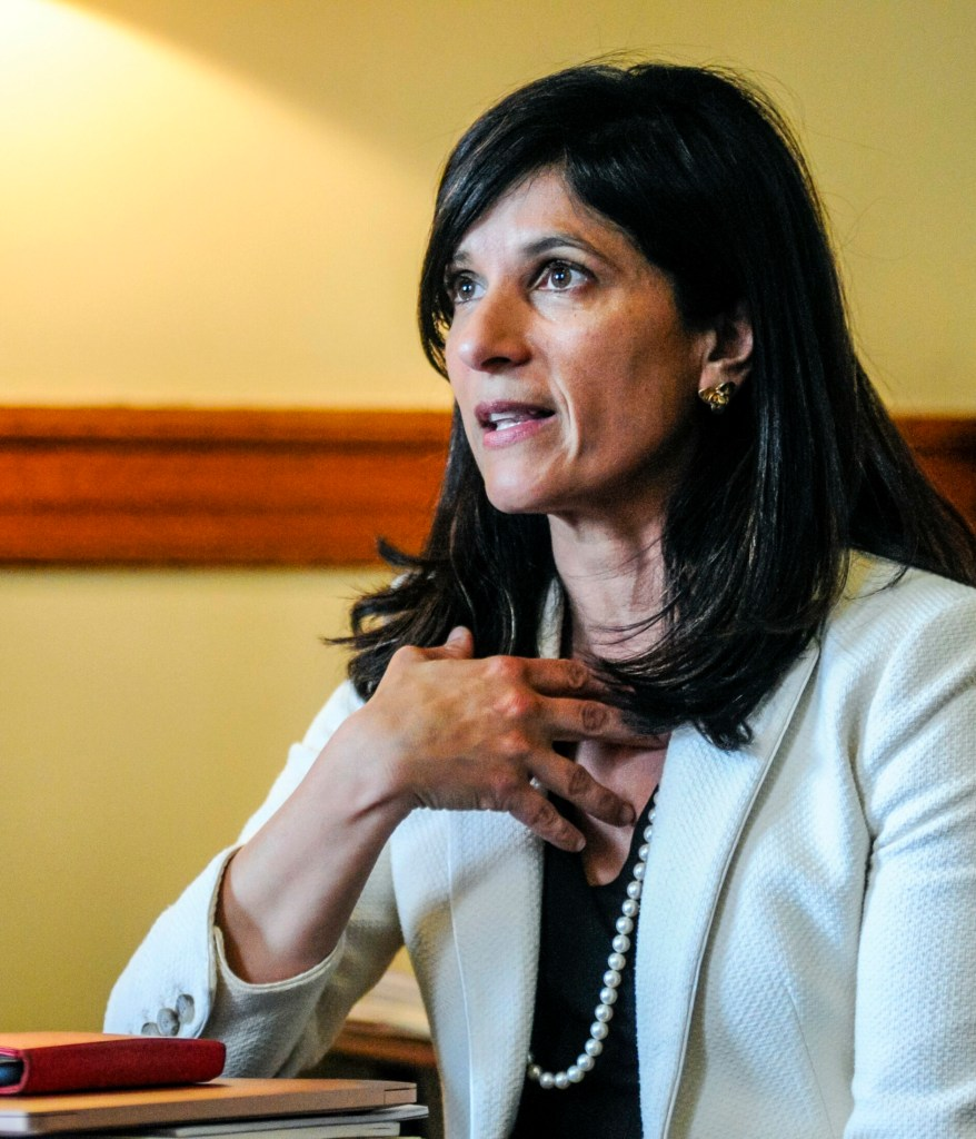 Maine Speaker of the House Sara Gideon, D-Freeport, will seek the Democratic Party's nomination to challenge Sen. Susan Collins in 2020.