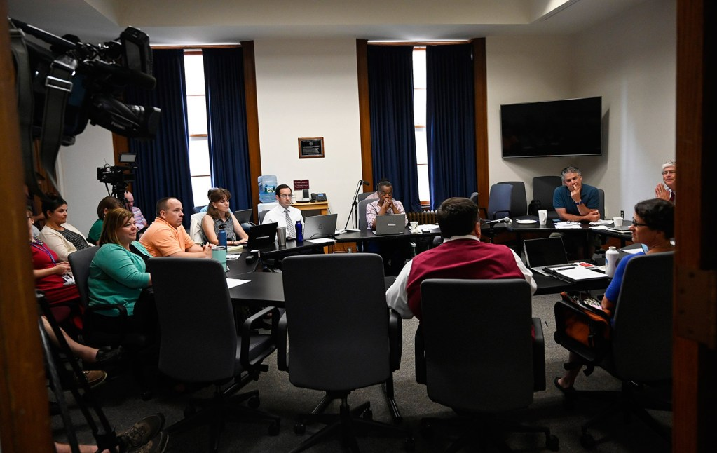 The Portland City Council's Finance Committee meets Thursday night to consider how to use $870,000 in private donations to help migrant families.