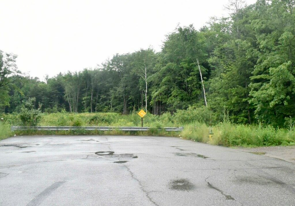 An 11-acre parcel of city-owned land at the end of the Airport Road in Waterville, seen Wednesday, will be sold to a man who says he would then re-sell part of it to a person who plans to use it for growing marijuana.