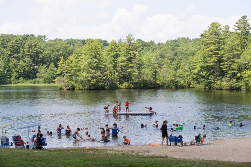 Dundee Park in Windham is a safe, clean swimming beach managed by the town's parks and recreation department.