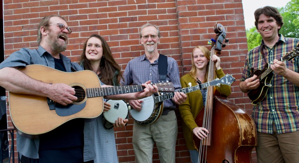 The Sandy River Ramblers: Stan Keach, The Sandy River Ramblers, from left, are Dana Reynolds, Bud Godsoe, Julie Davenport and Dan Simons.