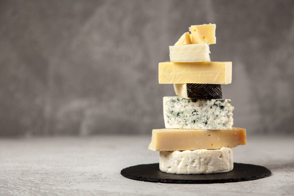 Some experts say as long as you are eating cheeses in moderation, the saturated fat shouldn't be an issue.