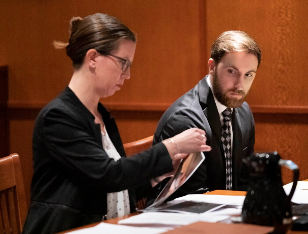 Mark Cardilli Jr., in court in May, waived his right to a jury trial on Wednesday in the shooting death of his sister's boyfriend. Cardilli, who says he acted in self-defense, is charged with murder in the death of Isahak Muse in March.