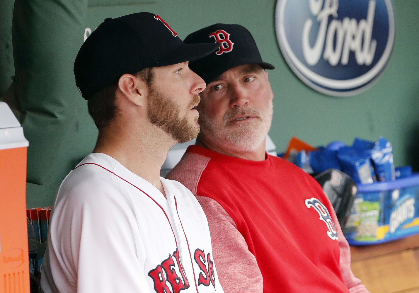 Red Sox reassign pitching coach Dana LeVangie