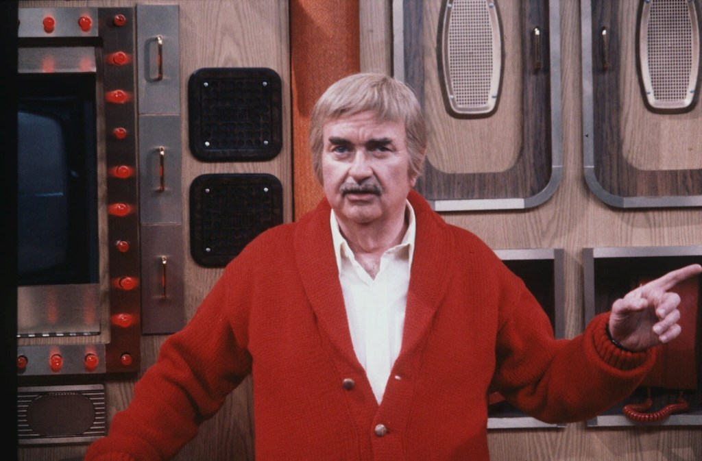 """Bob Keeshan appears in character as """"Captain Kangaroo"""" on the television show's set at CBS in 1981. The character, which had nothing to do with kangaroos or courts, was invoked by a congressman Tuesday."""