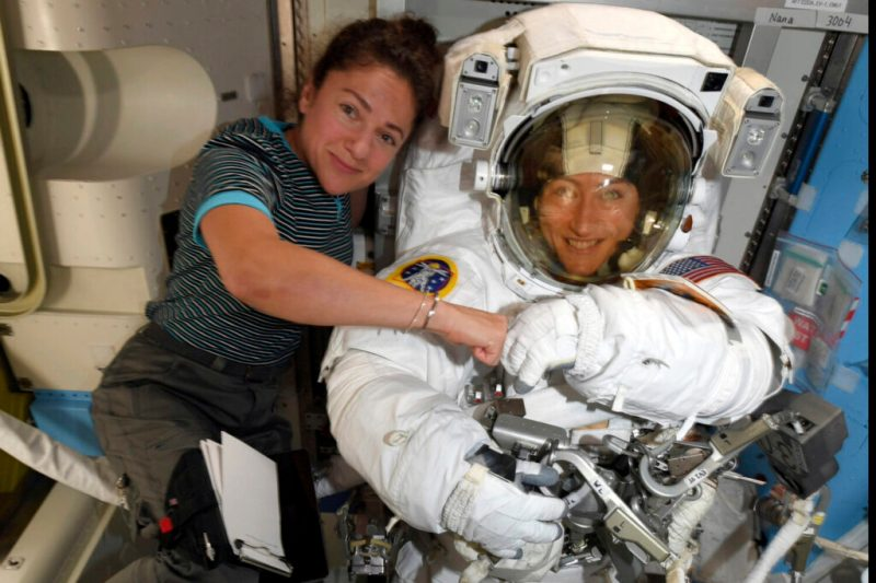 Watch: Maine astronaut Jessica Meir steps out of space station and into history