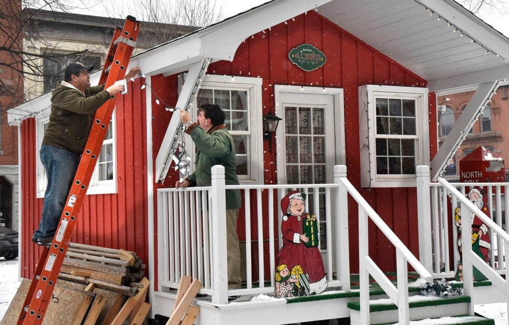 Waterville gearing up for Parade of Lights, Kringleville - Kennebec Journal & Morning Sentinel