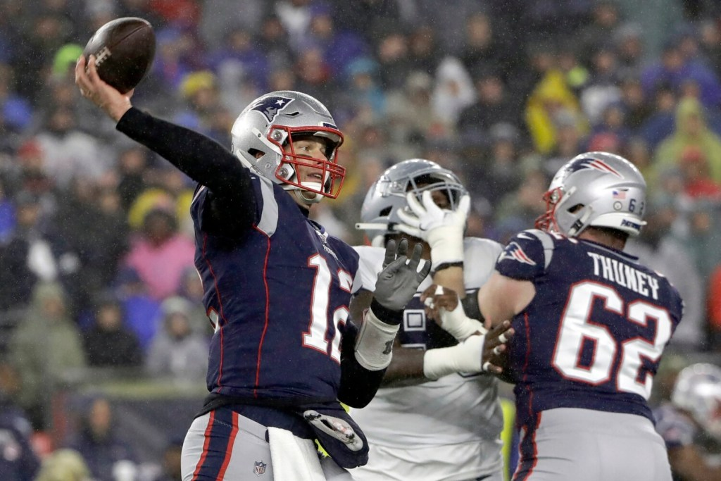Patriots Hold On To Beat Cowboys Improve To 10 1 Portland