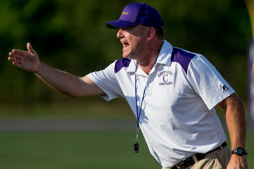 Cheverus Coach Mike Vance and the school announced on Wednesday that the team will be moving to eight-man football this fall.