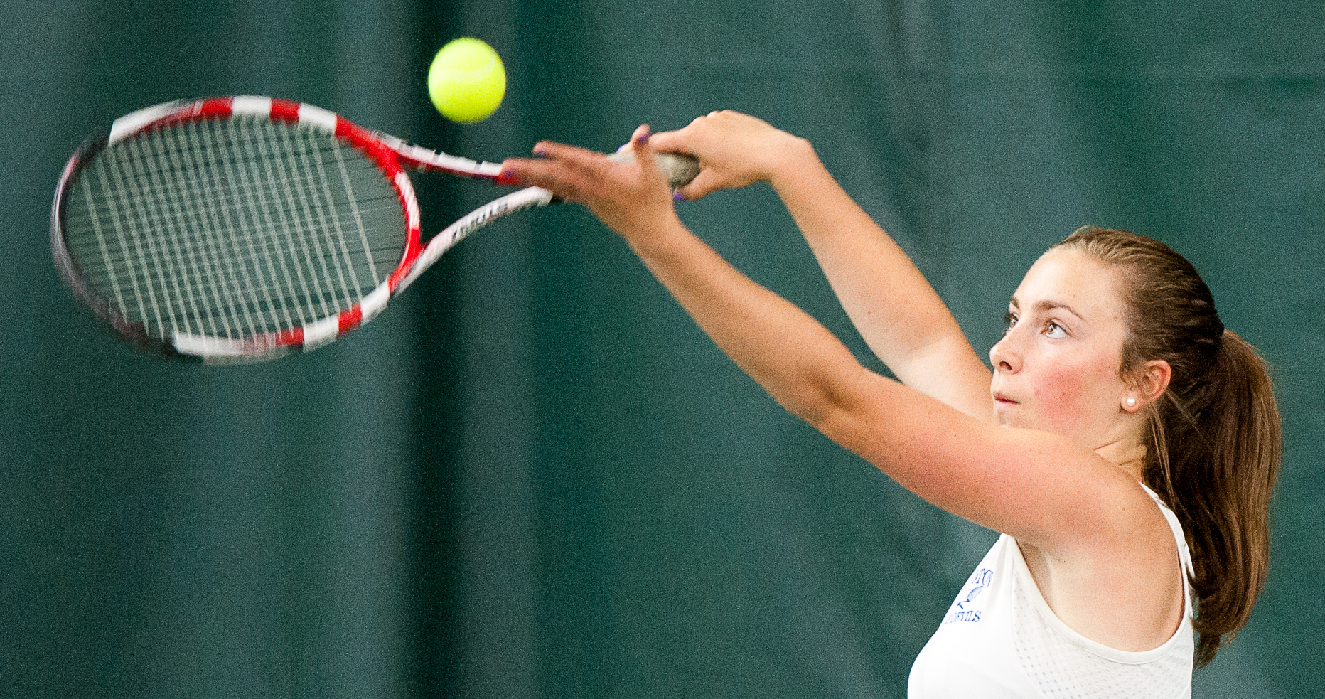 A North Girls' Tennis Final: Dragons finally get past Blue Devils
