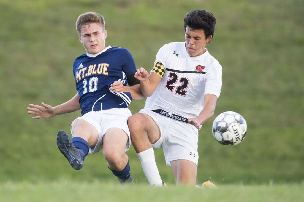 Boys' soccer: Mt  Blue, Brunswick play to a draw | Lewiston Sun Journal