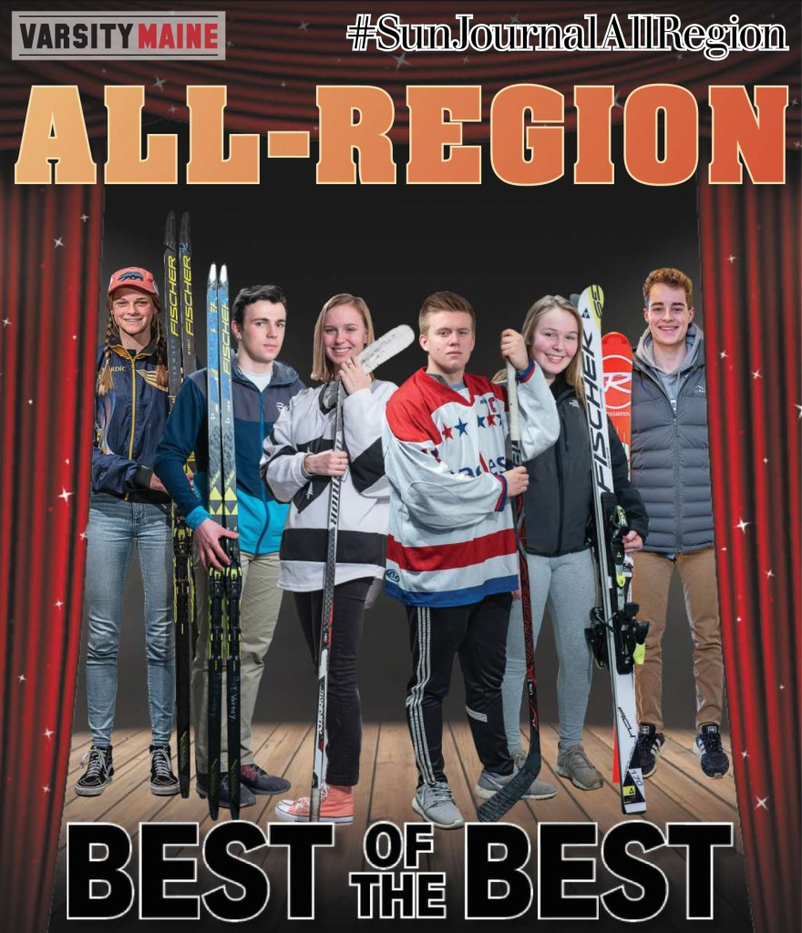 They skated, poled, carved, slalomed, shot and scored. And they did it better than anyone else: The Winter 2019 Sun Journal All-Region teams.