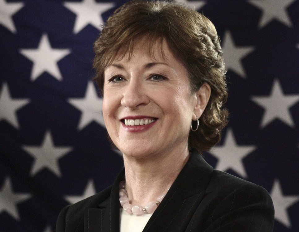 """""""I think John Kerry would be an excellent appointment and would be easily confirmed by his colleagues,"""" Sen. Susan Collins said in response to a question about Kerry serving as secretary of state."""
