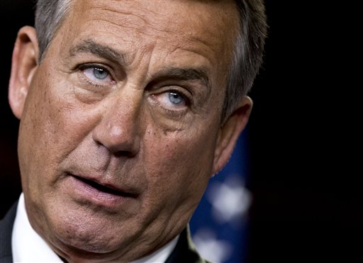 "House Speaker John Boehner said the GOP proposal is a ""credible plan"" for Obama and that he hopes the administration would ""respond in a timely and responsible way."""