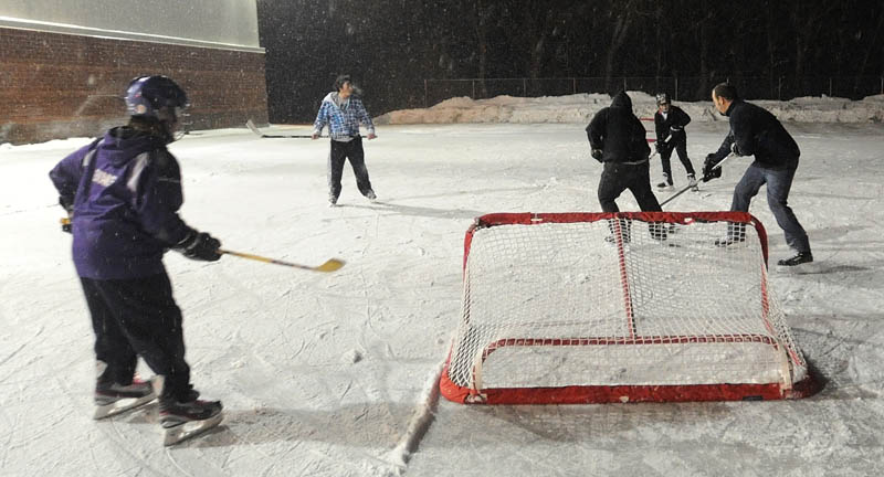 Once more into the rink: Waterville area sees resurgence of ice