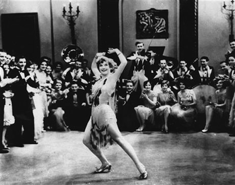"In this 1928 file photo, Actress Joan Crawford is seen dancing the Charleston in ""Our Dancing Daughters"" in Hollywood, Calif. A report released, September, 10, 2013, shows that the very wealthiest Americans earned more than 19 percent of the country's household income in 2012, their biggest share since 1928. And the top 10 percent captured a record 48.2 percent of total earnings last year. (AP Photo/File)"